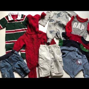 Baby Boy Baby Gap 10 piece Bundle 0-3 months